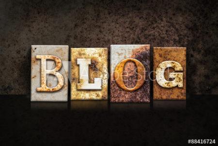 création blog